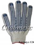 Перчатки пвх-протектор 10 класс 5-нитка, код 124