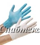 Перчатки смотровые латексные неопудренные (коды: M-136, L-085)