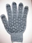 Перчатки ПВХ - волна березка 10 кл, 4-нит, код 230