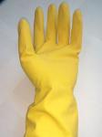 Перчатки резиновые хозяйственные с хлопком (коды: S-165, M-154,