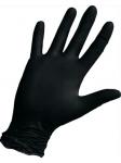 Смотровые черные нитриловые неопудренные размер/код M/464 L/249